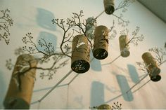 A different way to upcycle paper rolls