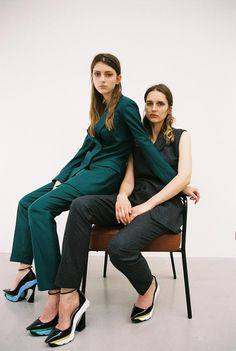 "skt4ng: "" ""MULTITUDE"" | Alexandra Rudakova & Sara Steiner photographed by Bruna Kazinoti and styled by Mauricio Nardi for Dust Magazine Summer 2014 """