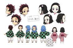 Chica Anime Manga, Otaku Anime, Anime Chibi, Anime Naruto, Demon Slayer, Slayer Anime, Cute Characters, Anime Characters, Character Art