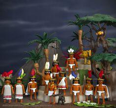 Pre-hispanic Mexico México Prehispanico Playmobil custom