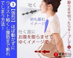 【強烈!】ほぼ動かずにウェスト細くし腹筋まで割れてしまう方法!おまけに肝臓にも良い!健康技3