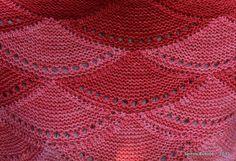 Ma version du châle Aranami - SpirouBobine Ravelry, Knit Art, Knit Patterns, Crochet, Blanket, Knitting, Point, Shawls, Wraps