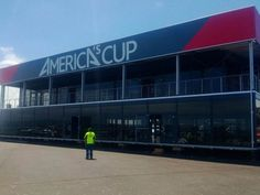 Outstanding Achievement Award Tent Manufacturing and Design America's Cup HTS-USA Hocker