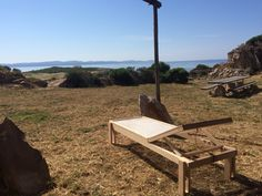 Artisan Sun bed.. A cova inspiration.. #residenzaacova #season2015 #carloforte #isoladisanpietro #sardinia #thinkdifferent