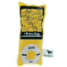 Idog Pelucia Amarelo Dog & Home - MeuAmigoPet.com.br #petshop #cachorro #cão #meuamigopet