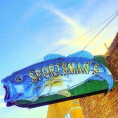 Sportsman's Bar neon sign - Overton, Nevada