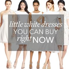 Brides.com: 25 Little White Dresses You Can Buy Right Now.