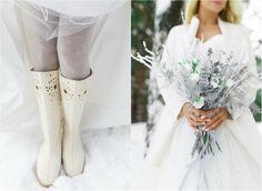 Зимний букет невесты - Wedkitchen