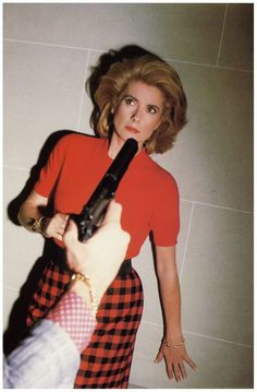 Gimme all your class and beauty! By Helmut Newton. Catherine Deneuve, Paris, 1983.