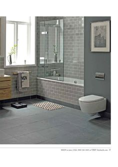 for downstairs bathroom: Fired Earth - Retro Metro Tiles. Bathroom Styling, Small Bathroom, Bathroom Plans, Bathroom Inspiration, Bathroom Makeover, Tiled Bath Panel, Grey Bathrooms, Tile Bathroom, Laundry In Bathroom