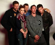Haven cast duckfaces... I just do not know what to do with this.