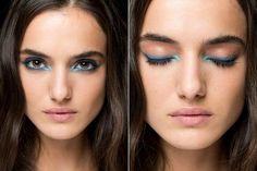Irgendwie kommt ja alles wieder. So auch der 80er Jahre Make-up-Trend schlechthin: blauer Kajal. Doch im Jahr 2017 sieht er richtig cool aus.