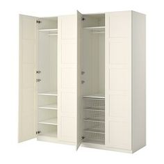 "78 3/4"" x 23 5/8"" x 93 1/8 ""--- IDEAS FOR GRAY CLOSET BELOW:::  IKEA Double BERGSBO PAX Wardrobe -  $665.00"