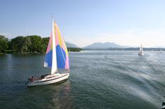 #Segeln #Segelboot #Chiemsee