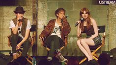 Matt Smith, Arthur Darvill, Karen Gillan at ComicCon