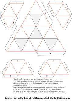 Xplore & Xpress: Zentangle Challenge # 52 - Second entry