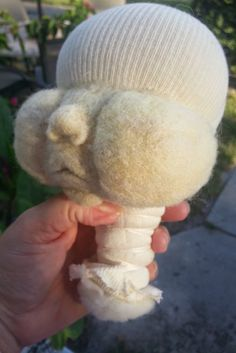 Cloth Doll making - Sculpting with Fiber