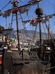 Santa Maria (RipperDoc) Tags: columbus portugal harbor ship atlantic santamaria madeira funchal