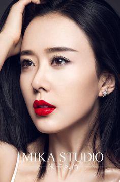 【米卡风尚】女星颜丹晨 红唇大片_摄影师张群云_新浪博客