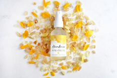 ABUNDANCE Crystal Mist - Therapeutic-Grade Essential Oils, Aromatherapy, Natural Gemstones, Peppermi Clary Sage Essential Oil, 100 Pure Essential Oils, Essential Oil Blends, Aromatherapy Recipes, Homemade Shampoo, Citrine Crystal, Therapeutic Grade Essential Oils, Carrier Oils, Lemon Grass