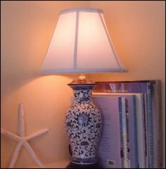cobalt blue lamp...