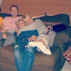 Mark , ross ,and stormie!!! So cute!