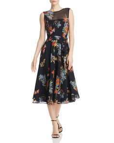 a3bcb971c9a6 Marella - Pinta Floral-Print Midi Dress - 100% Exclusive