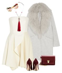 """""""Red accessories"""" by alwayswearwhatyouwanttowear on Polyvore featuring Mode, Elizabeth and James, STELLA McCARTNEY, Gucci, Chanel, Yves Saint Laurent, Miu Miu, outfit, outfits und fashionset"""