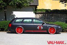 Audi A6 allroad auf Stahlfelgen