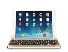 The ultimate keyboard for the iPad iPad Gen the iPad Pro & iPad Air. A Bluetooth wireless keyboard, with matching aluminum body, degree viewing ability, and easy lap-ability. It's the perfect balance between tablet and laptop functionality. Mac Laptop, Bluetooth Keyboard, Ipad Air 2, New Ipad, Ipad Pro, Apple Ipad, Ipad Case, Cool Things To Buy, Macbook