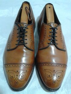 ALLEN EDMONDS Sanford Cap Toe Oxfords  Size 9D Allen Edmonds Shoes MSRP$395 #AllenEdmonds #Oxfords #Formal