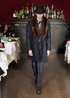 Moschino Uomo Fall/Winter 13-14 fashion show!  Watch it again on http://www.moschino.com/  #moschino #mfw #fashion #uomo #menswear #fashionshow
