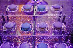 Galaxy, Galaxy theme, Galaxy theme wedding, Starry Night theme wedding, Galaxy macarons, Starry Night theme macarons, Starry Night macarons, elegant macarons, monogram macarons, wedding macarons, blue macarons, purple macarons, macarons, purple and blue macarons initial macarons, macarons with initials