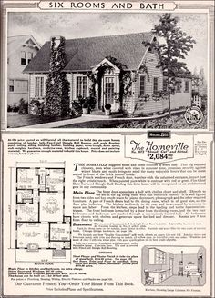 CURB APPEAL – another great example of beautiful design. 1923 Sears Homeville