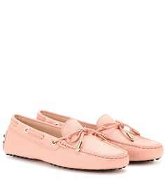 mytheresa.com - Heaven New Laccetto Leather Loafers ¦ Tod's ♦ mytheresa.com - Luxury Fashion for Women / Designer clothing, shoes, bags
