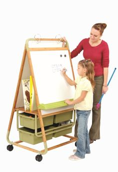 Double Sided Bamboo Teaching Easel #tssUltimateClassroom