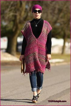 All Year Round Crochet Poncho | You don't have to pack up this shawl due to the change in weather. The design will look stylish over your favorite little black dress, draped over your shoulders for a formal occasion, or simply to dress up a pair of jeans and a T-shirt.