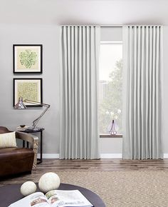 Simple yet functional, ripple fold drapery is a great choice for architects and designers. Shop online, via catalog, or in a showroom today!