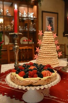 Norwegian desserts at Christmas... http://www.graciousoffering.com