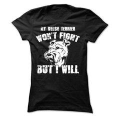 Welsh Terrier T Shirts, Hoodie. Shopping Online Now ==► https://www.sunfrog.com/Pets/Welsh-Terrier-58638647-Ladies.html?41382