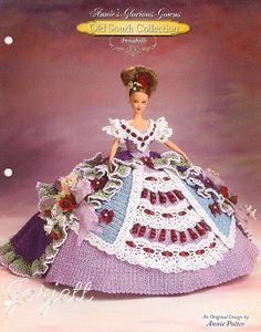 Annabelle, Annie's Glorious Gowns Old South Collection crochet patterns