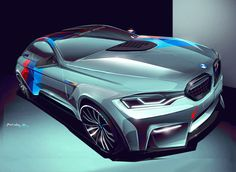 "BMW "" M3 Coupe_Concept on Behance"