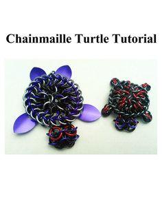 Chainmaille Turtle Tutorial Ver. 1.5 | Etsy Metal Jewelry, Custom Jewelry, Handmade Jewelry, Jewlery, Chain Jewelry, Wire Wrapped Earrings, Wire Wrapped Pendant, Wire Earrings, Wire Bracelets