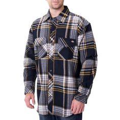 Dickies Plaid Flannel Shirt - Men $19.99