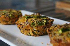 Asparagus   Parmesan Quinoa Muffins