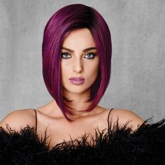 Hairdo Midnight Berry wig - chosen by DressTech staff with the discerning crossdresser in mind. Helps to transform male appearance to a more feminine form.