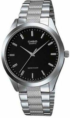 Casio Men's Steel watch #MTP1274D1A Casio. $23.90. Mineral Crystal. Quartz Movement. 50 Meters / 165 Feet / 5 ATM Water Resistant. 36mm Case Diameter. Save 40%!