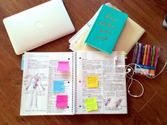 Divide your pages in half and fit more notes on one page! Source: hannahreveur.tumblr.com