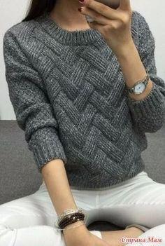 заказала дочка пуловер серенький для школы после нудных поисков нашла схему вязала спинку и полочку по схеме рукав спущеный рисом или жемчугом вот результат