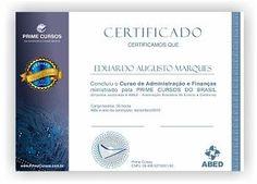 Certificado PrimeCursos